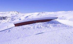 sector 6 cajon (Estructura del snowpark)