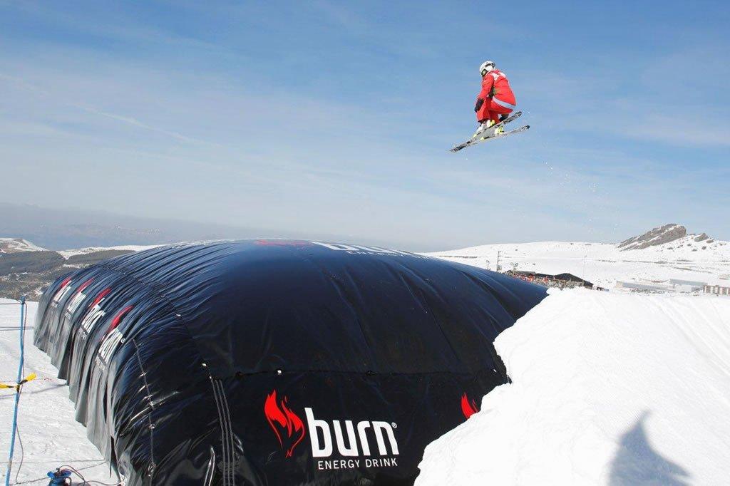 Colchon Burn esquiador