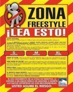 Normas de Seguridad freestyle-zone-ok