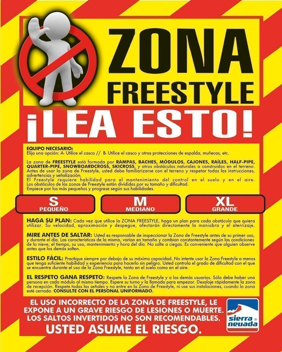 Normas de Seguridad freestyle-zone-ok