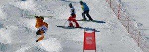 salto visera features (Los Campeones del Mundo estarán en Sierra Nevada)