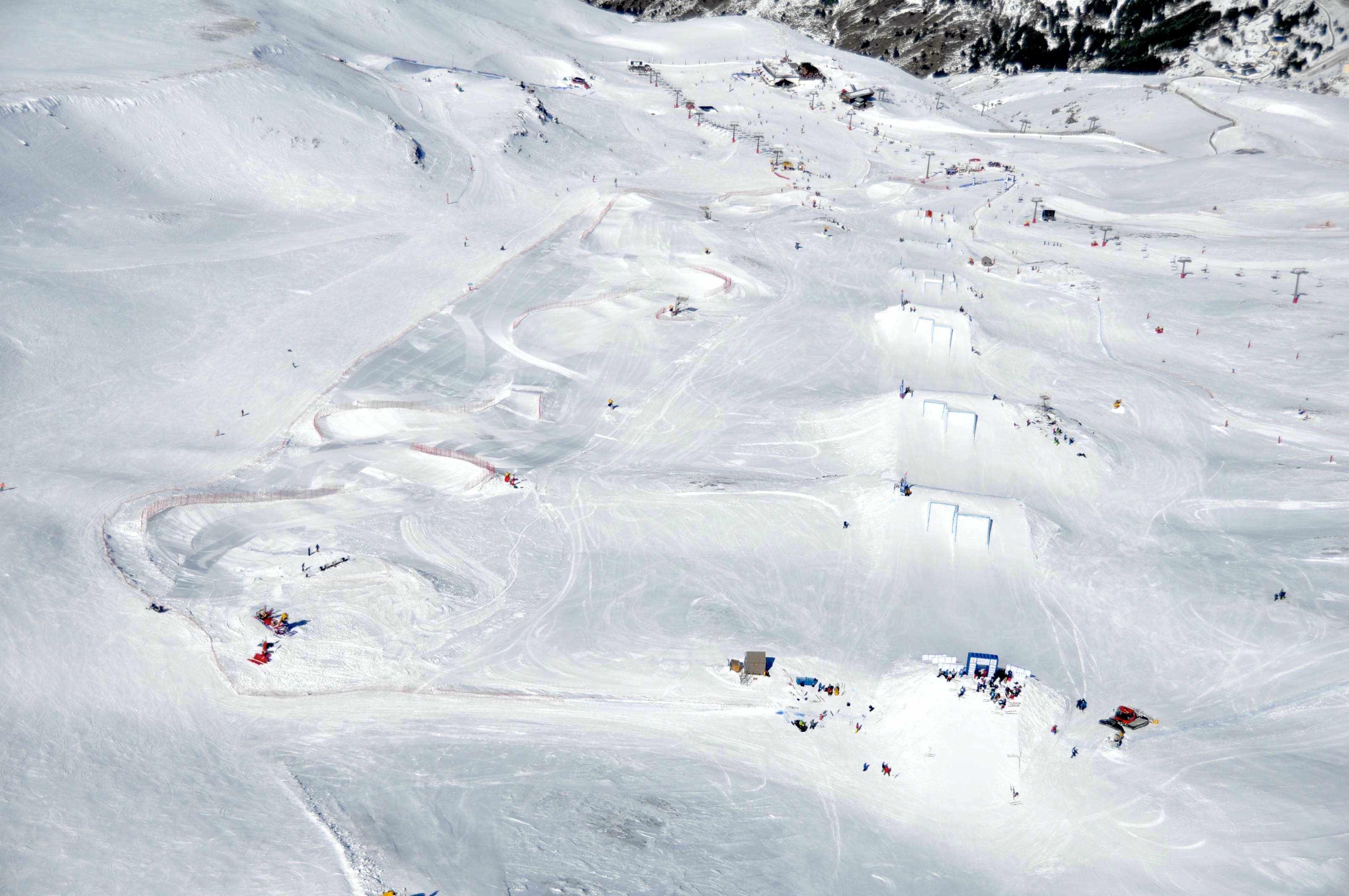 skicross+slopestyle en Universiada (9 feb 2015)